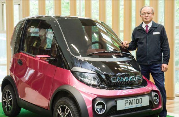 박영태 대표이사는 초소형 전기차 연간 3만대 생산을 목표로 하고 있다. (사진=캠시스)