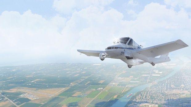 미국 실리콘밸리 자동차업체 테라퓨지아가 내년에 하늘을 나는 자동차를 출시한다. (사진=테라퓨지아)