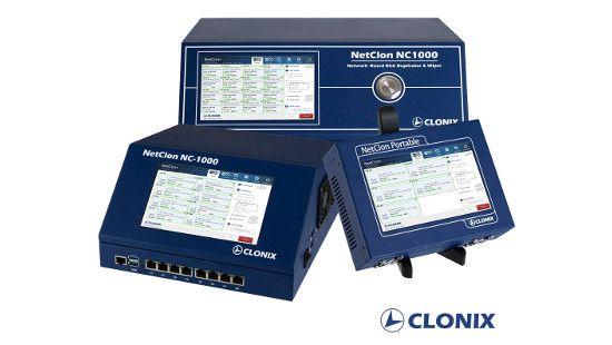 클로닉스가 개발한 네트워크 방식 SSD 복제/삭제기 넷클론. (사진=클로닉스)