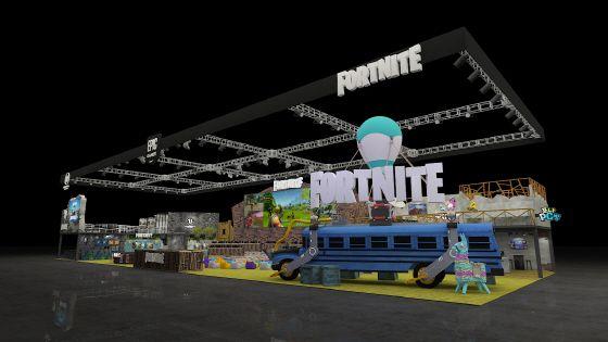 지스타 2012 에픽 게임즈 부스.