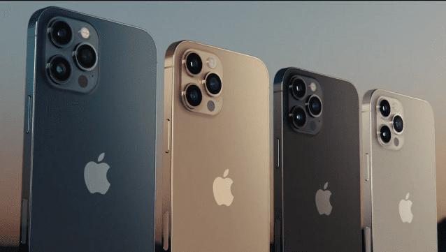 아이폰12 프로 모델.