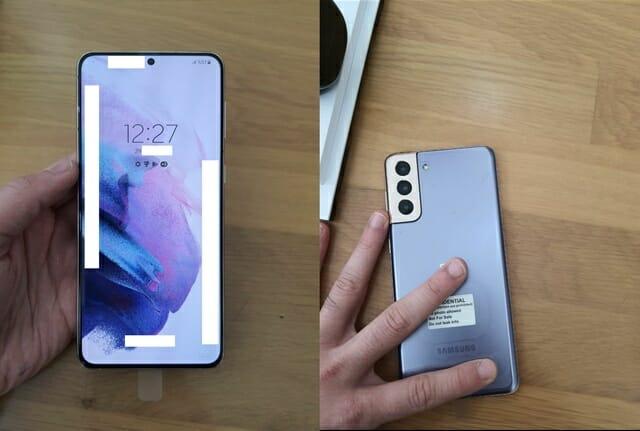 Samsung Galaxy S21 Plus는 다음과 같습니다.
