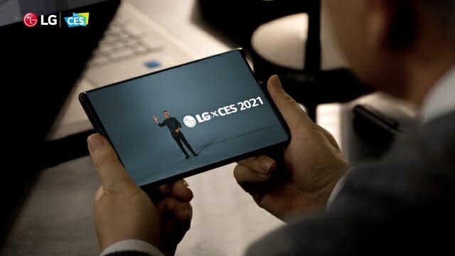 세계 최초의 LG 롤블 폰 출시 실패