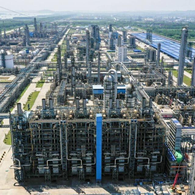 SK 이노의 중국 합작 법인 '중한 석유 화학', 하반기 본격 가동