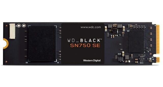 WD_BLACK SN750 SE NVMe SSD. (사진=웨스턴디지털)