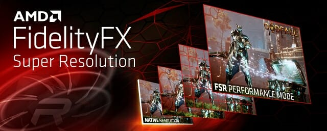 AMD가 게임 업스케일링 기술 '피델리티FX 슈퍼 해상도'를 정식 공개했다.